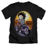 Juvenile: Betty Boop - Wild Biker T-shirts