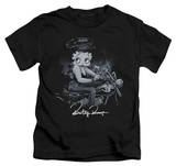 Youth: Betty Boop - Storm Rider T-Shirt