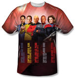Star Trek - Captains T-Shirt