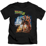 Juvenile: Back To The Future III - Poster T-Shirt