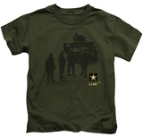 Juvenile: Army - Strong T-Shirt