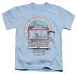 Juvenile: Betty Boop - Betty's Trolley Shirts