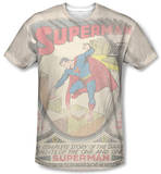 Superman - Superman No.1 Distressed Sublimated
