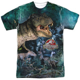 Jurassic Park - Dinos Gather T-shirts