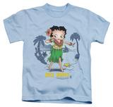 Youth: Betty Boop - Hula Honey Shirts