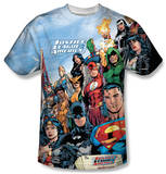 Justice League - Justice League Of America T-shirts
