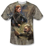 The Hobbit: The Desolation of Smaug - Elves T-shirts