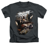 Juvenile: Dark Knight Rises - Imagine The Fire T-Shirt