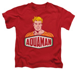 Juvenile: Aquaman - Aquaman Sign Shirt