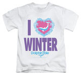 Youth: Dolphin Tale - I Heart Winter T-Shirt