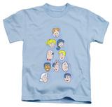 Juvenile: Archie Comics - Character Heads T-shirts