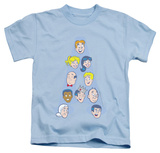 Youth: Archie Comics - Character Heads T-shirts