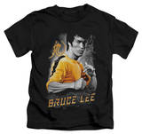 Juvenile: Bruce Lee - Yellow Dragon Shirts