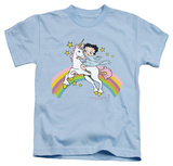 Juvenile: Betty Boop - Unicorn & Rainbows Shirts