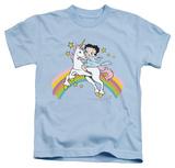 Youth: Betty Boop - Unicorn & Rainbows Shirts