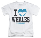 Youth: Big Miracle - I Heart Whales Shirt