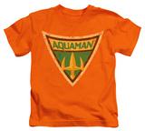Juvenile: Batman The Brave and the Bold - Aquaman Shield T-Shirt