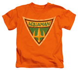 Youth: Batman The Brave and the Bold - Aquaman Shield T-Shirt