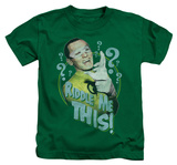 Youth: Batman Classic TV - Riddle Me This Shirts