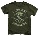 Juvenile: Army - Union Eagle T-shirts