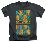 Youth: Battlestar Galactica - 35th Anniversary Cast Shirts