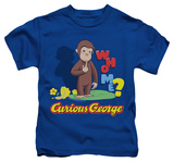 Juvenile: Curious George - Who Me T-shirts