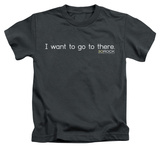 Youth: 30 Rock - I Want To Go There T-shirts