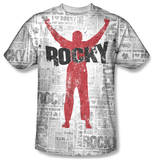 Rocky - News Press T-Shirt