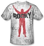 Rocky - News Press T-Shirt