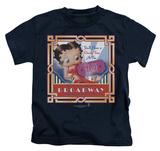 Juvenile: Betty Boop - On Broadway T-shirts