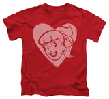 Youth: Archie Comics - Betty Hearts T-shirts