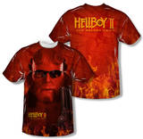 Hellboy II - Big Red (Front/Back Print) T-shirts