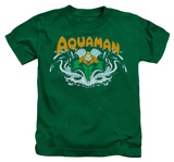 Juvenile: Aquaman - Aquaman Splash T-shirts