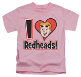 Youth: Archie Comics - I Love Redheads T-Shirt