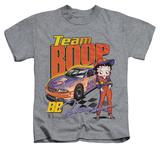 Juvenile: Betty Boop - Team Boop Shirts