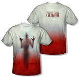 Psycho - Shower (Front/Back Print) T-shirts