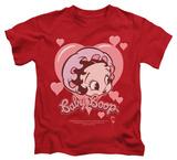 Juvenile: Betty Boop - Baby Heart T-Shirt