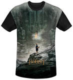 The Hobbit: The Desolation of Smaug - Big Poster Black Back T-shirts