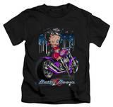 Juvenile: Betty Boop - City Chopper Shirts