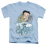 Juvenile: Betty Boop - I Believe In Angels T-Shirt
