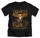 Youth: Betty Boop - Rebel Rider T-shirts