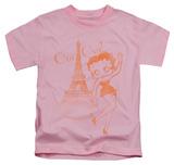 Juvenile: Betty Boop - Oui Oui Shirt