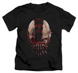 Juvenile: Dark Knight Rises - Bane Mask T-Shirt