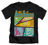 Youth: Archie Comics - The Archies Colored T-Shirt