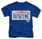 Youth: Back To The Future - Outatime Plate T-Shirt