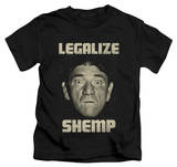 Youth: The Three Stooges - Legalize Shemp T-shirts