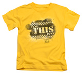 Youth: Taxi - Flag This T-Shirt
