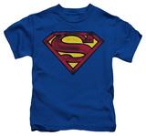 Youth: Superman - Charcoal Shield T-shirts