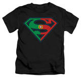 Juvenile: Superman - Portugal Shield T-shirts