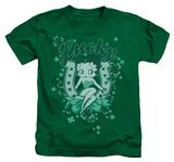 Juvenile: Betty Boop - Lucky Boop T-shirts